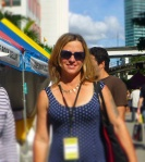 Evelyn McDonnell at Miami Book Fair 2013