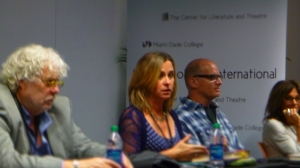 Miami Book Fair panel: Mark Kurlansky, Evelyn McDonnell, and David Meyer