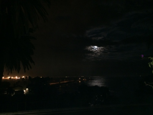 Moon Over Cabrillo