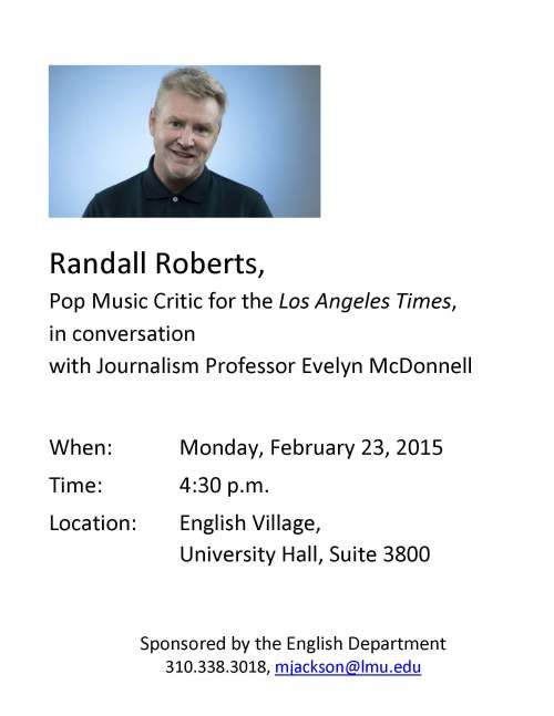Randall Roberts