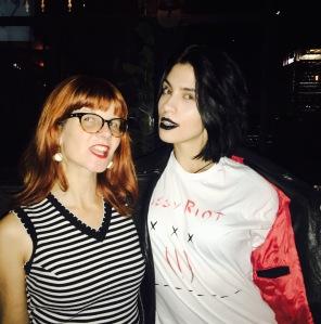 Allison Wolfe (left) and Nadya Tolokno. Courtesy of Allison