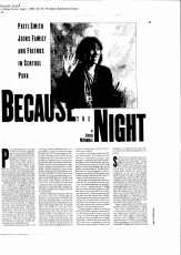 Because the Night Patti Smith Feature_Page_2