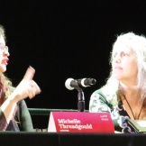 Michelle Threadgould and Lucretia Tye Jasmine. Photo by Janet Goodman.