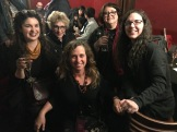 Music Matters authors Michelle Threadgould, Donna Gaines, Caryn Rose, Annie Zaleski and editor Evelyn McDonnell